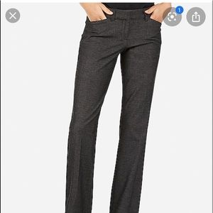 Express ladies blue/black dress pant